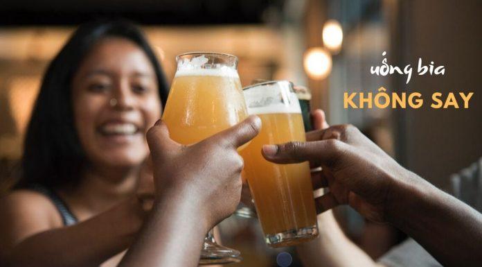 Cách để uống bia không bị say, không đỏ mặt, không hại sức khỏe