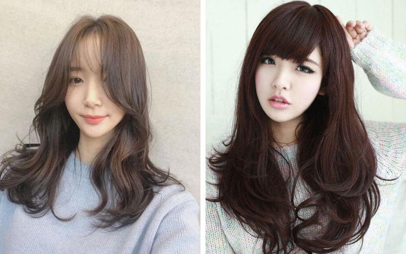 kiểu tóc đẹp nữ mặt dài
