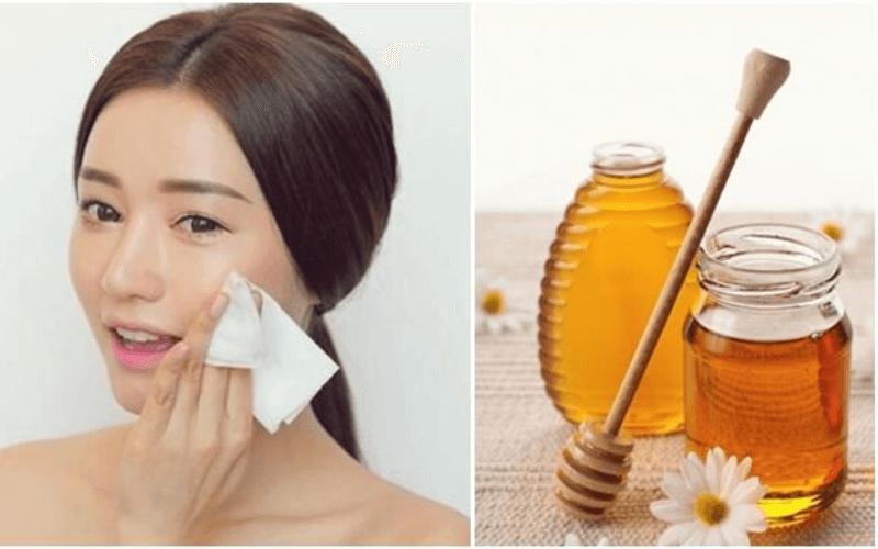 Phương pháp tẩy trang bằng mật ong