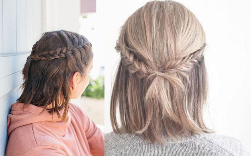 tóc ngắn tết nửa đầu