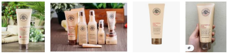 Sữa rửa mặt Clean Face Acne The Face Shop