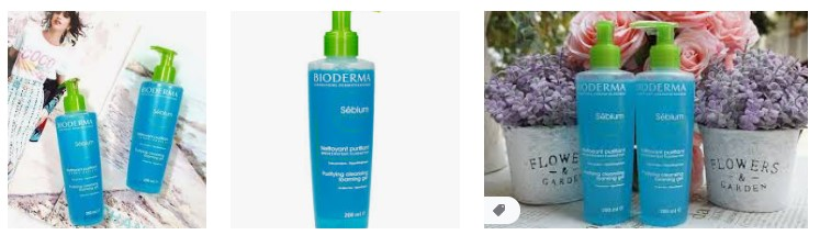 Sữa rửa mặt Bioderma Sebium