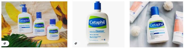 sua rua mat Cetaphil Gentle Cleanser
