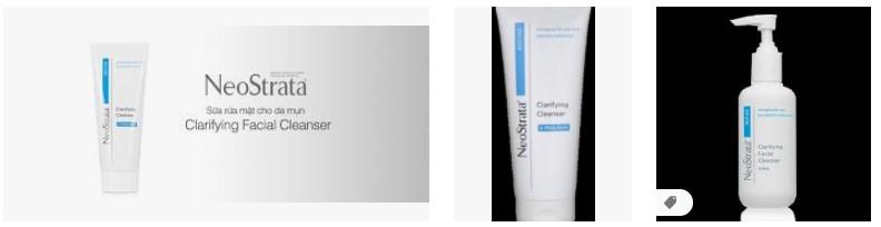 sua rua mat cho da mun Neostrata Clarifying Facial Cleanser